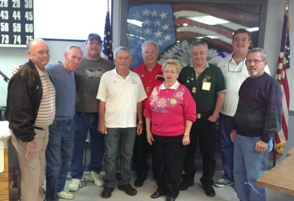 01-07-2014 Eagle Pride with Chappy, Doc, Scott, WP Bob, Grand Aerie WP David Tice, MP Karen, Florida State WP John Brancaccio, Jim, and Rollin