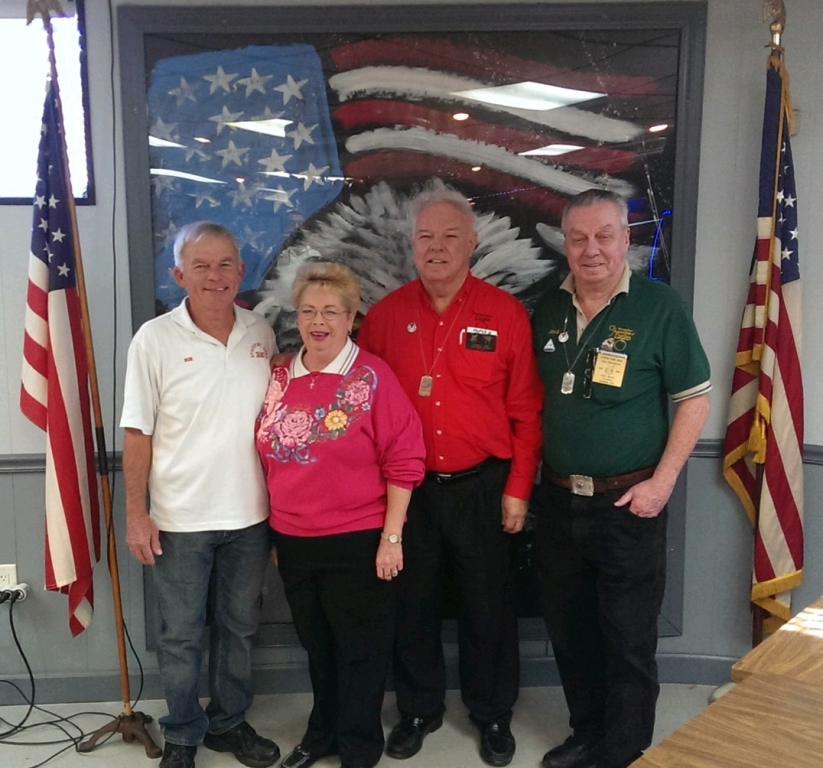 01-07-2014 WP Bob & MP Karen with Grand Aerie WP David Tice & Florida State WP John Brancaccio