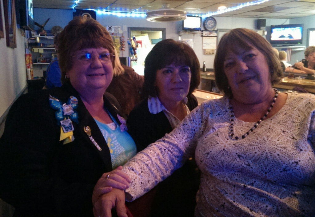 01-25-2014 Anniversary Party - State Madam Vice President Cindi with Lynn & Chris