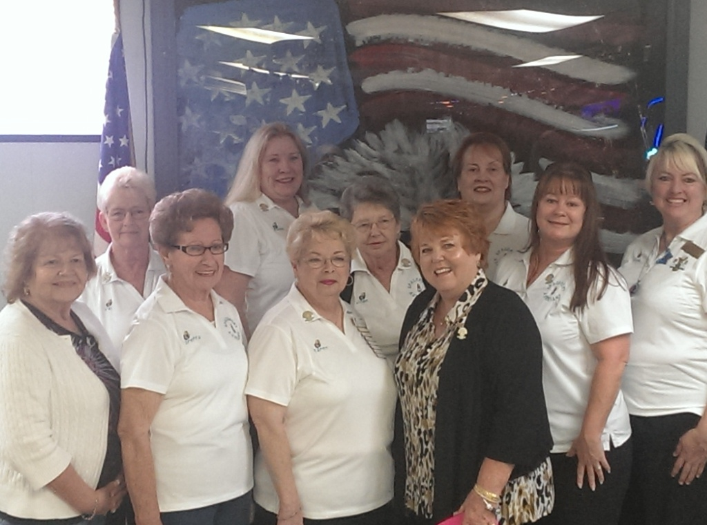 03-07-2014 GMP Katie, SMP Donna, and the Ladies Auxiliary