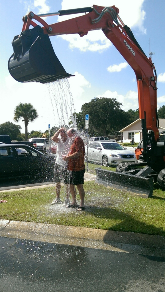 09-01-2014 Ice Bucket Challenge with Rob & Scott