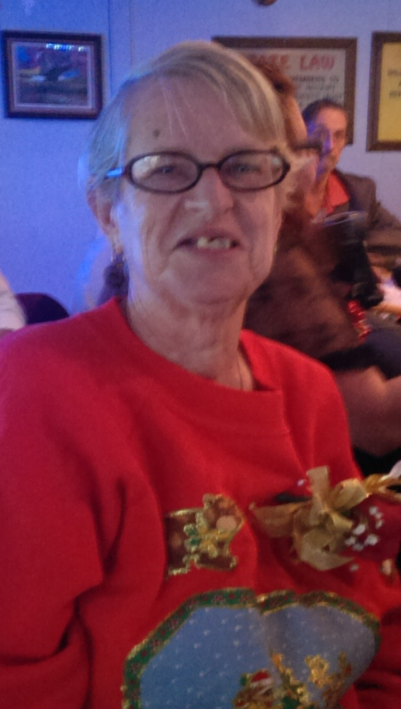 12-21-2013 Paula at Employee Appreciation Party